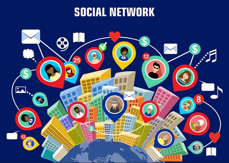 Đặt Backlink Social Network