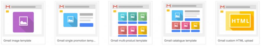 tùy chọn trong quảng cáo gmail