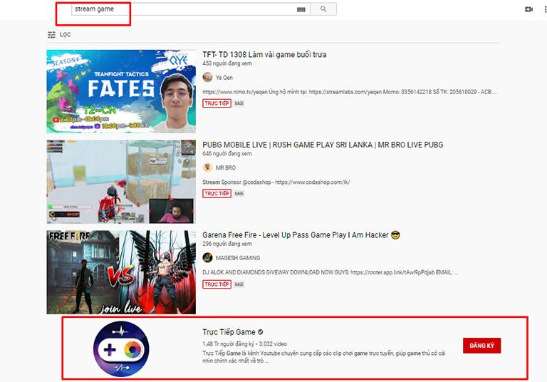 SEO kênh YouTube