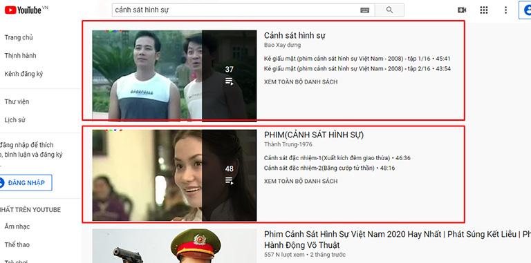 SEO playlist YouTube