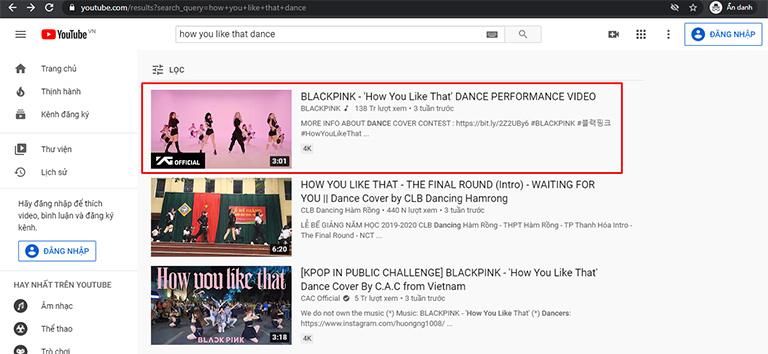 Video trên kênh uy tín và tương tác cao được xếp hạng cao