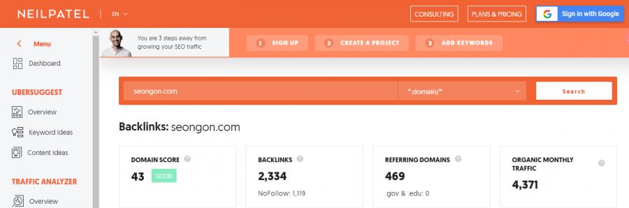 Kiểm tra backlink