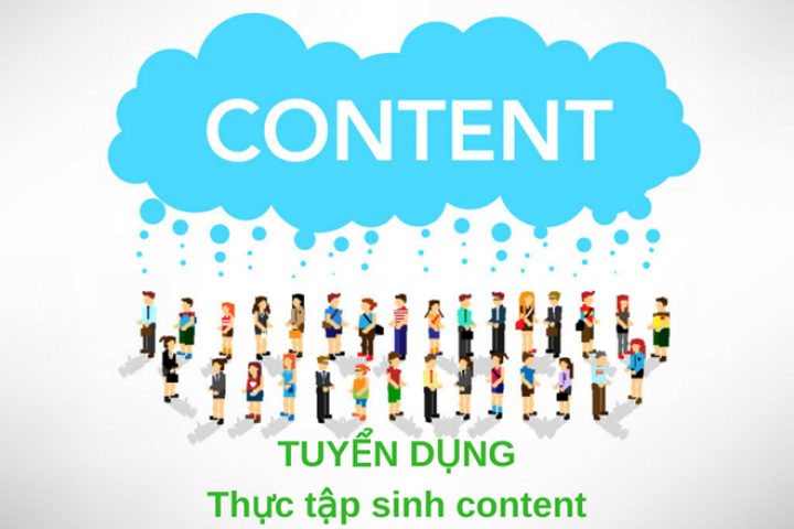 Thực tập sinh Content