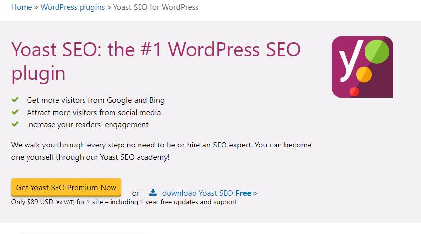 SEO checklist - Cài đặt plugin Yoast SEO cho những website WordPress