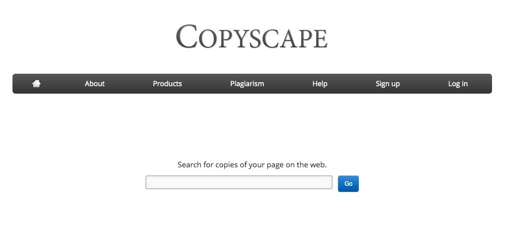 Công cụ tối ưu hoá nội dung CopyScape