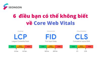 6 điều bạn có thể không biết về Core Web Vitals